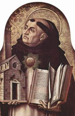 Aquinas by Crivelli