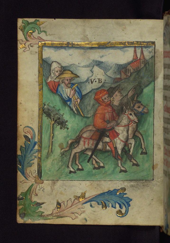 pilgrims cross alps